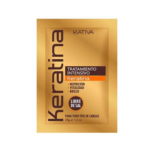 Tratamiento Intensivo Keratina Kátiva (12 Unidades) 12x35g