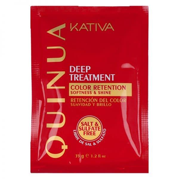 Tratamiento Quinua Pro Deep Kátiva (12 unidades) 12x35gr