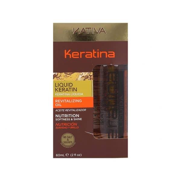 Keratina Líquida Kátiva 60 ml