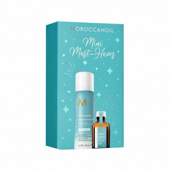 Moroccanoil mini kit light tones | TuChampú
