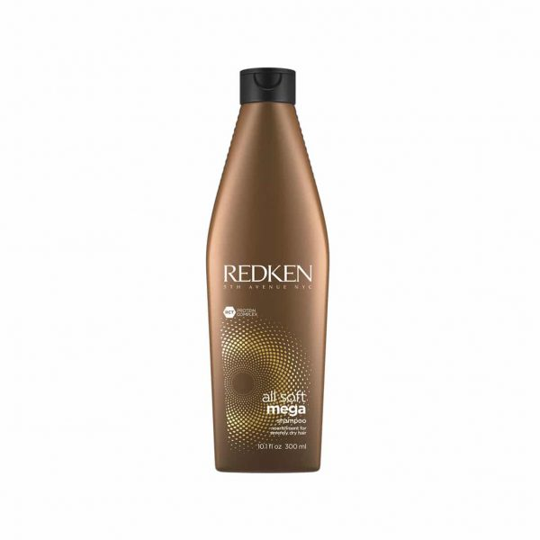 Redken All Soft Mega Shampoo 300ml | TuChampú