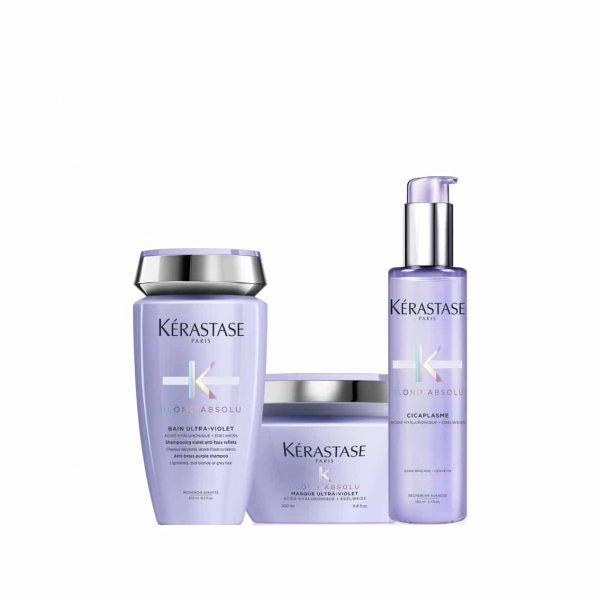 Bain Ultra Violet 250ml + Masque Ultra Violet 200ml + Cicaplasme 150ml