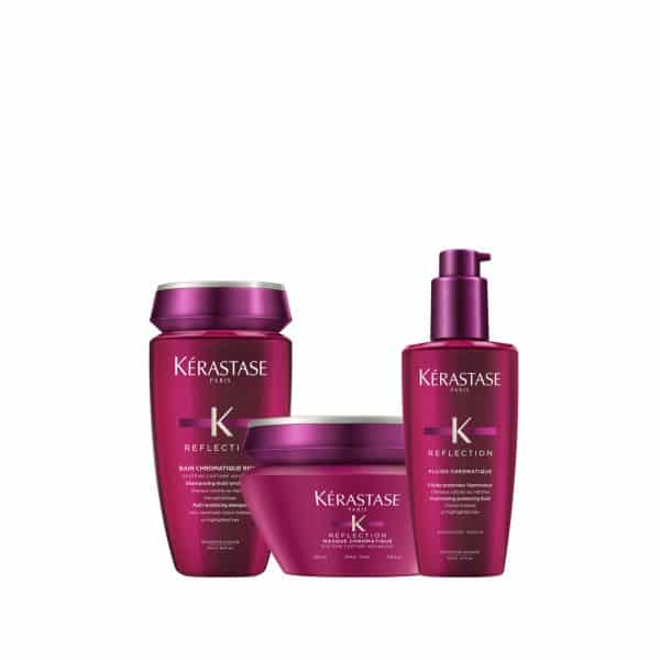 Bain Chromatique Riche 250ml + Masque Chromatique Epais 200ml + Fluide Chroma Riche 125ml