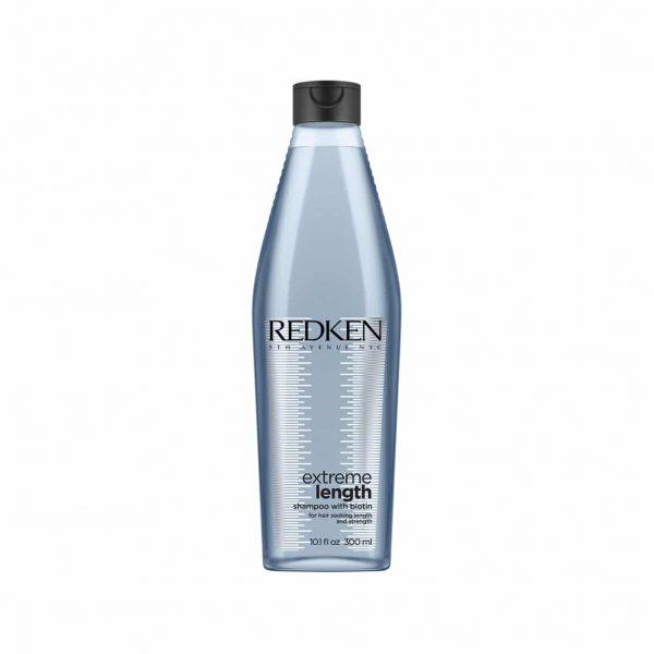 Champú para cabellos largos y dañados. Con Biotina para fortalecer el cabello y ayudarlo a crecer mas.