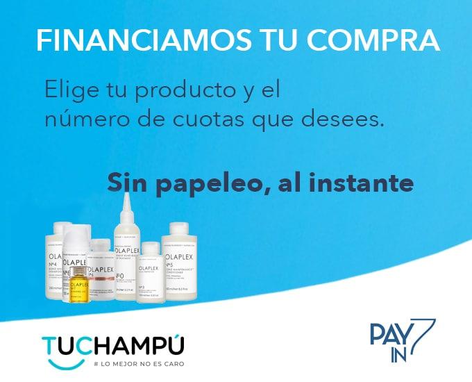 Financiamos tu compra en Tuchampú