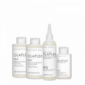 Pack Olaplex nº 0, 3, 4, 5