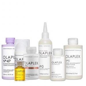 Pack mantenimiento en casa Olaplex 0,3,4p,5,6 y 7